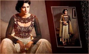 Greet With The Fusion Of Modern Salwar Suits 4
