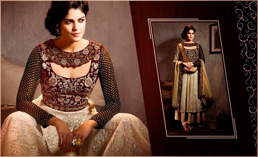 Greet With The Fusion Of Modern Salwar Suits 3