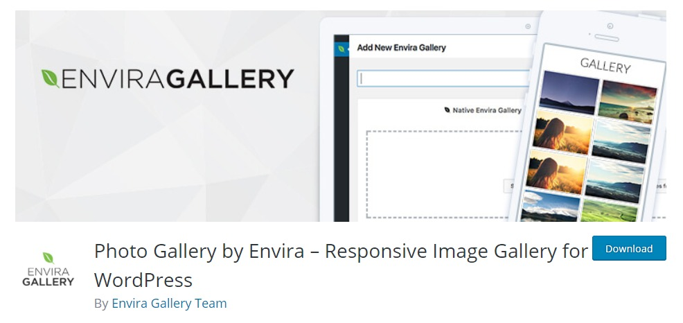 Envira Portfolio Plugin