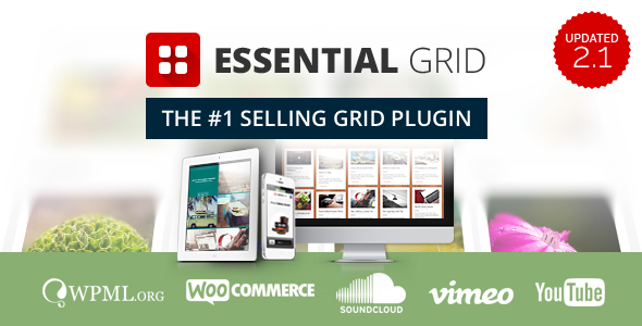 Essential Grid Premium WordPress Plugin