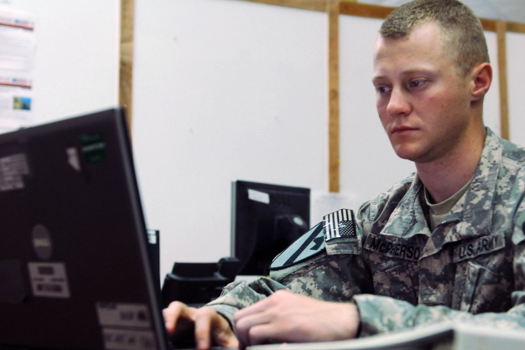 School Online After the Military