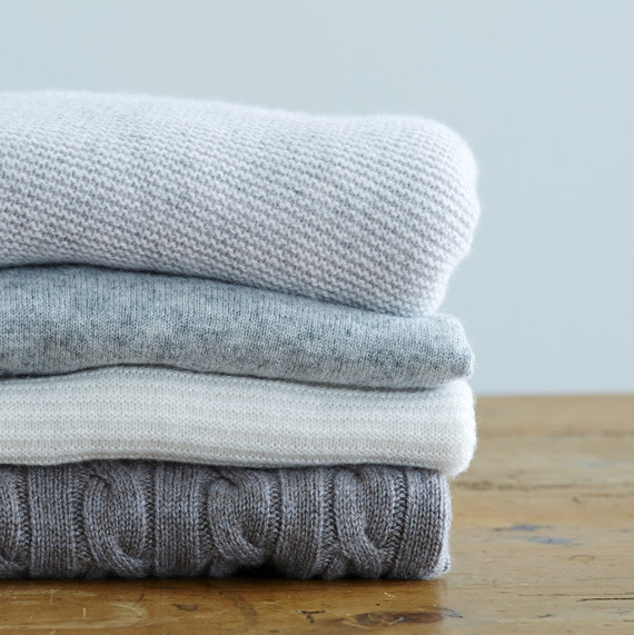 How to take care of cashmere knitwear 1