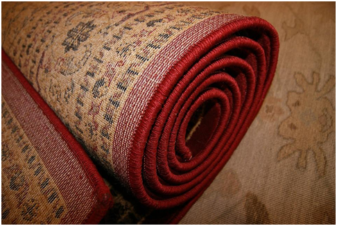 How are commercial carpets kept clean? 3