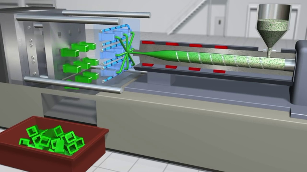 How does plastic injection moulding works? 1