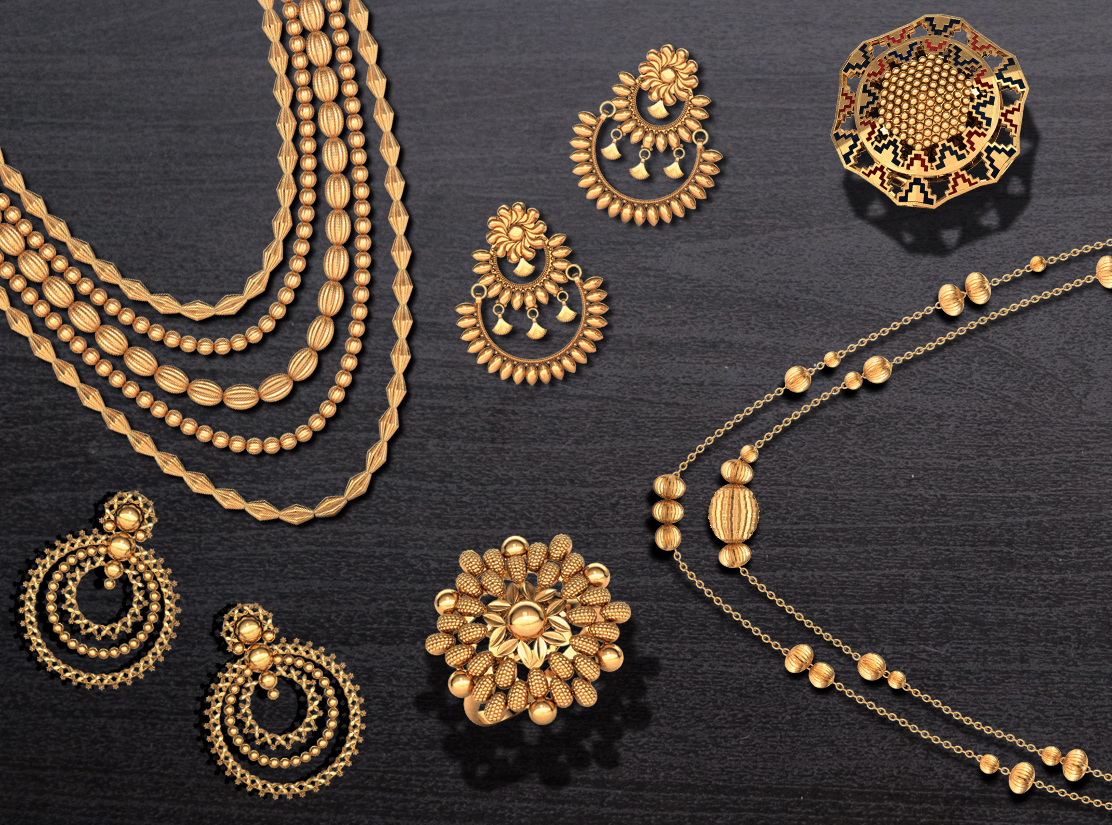 Latest Trends in Gold Jewellery 1