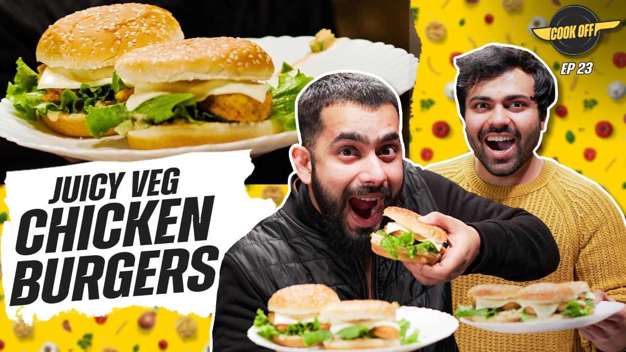 How to make veg chicken burger? 1