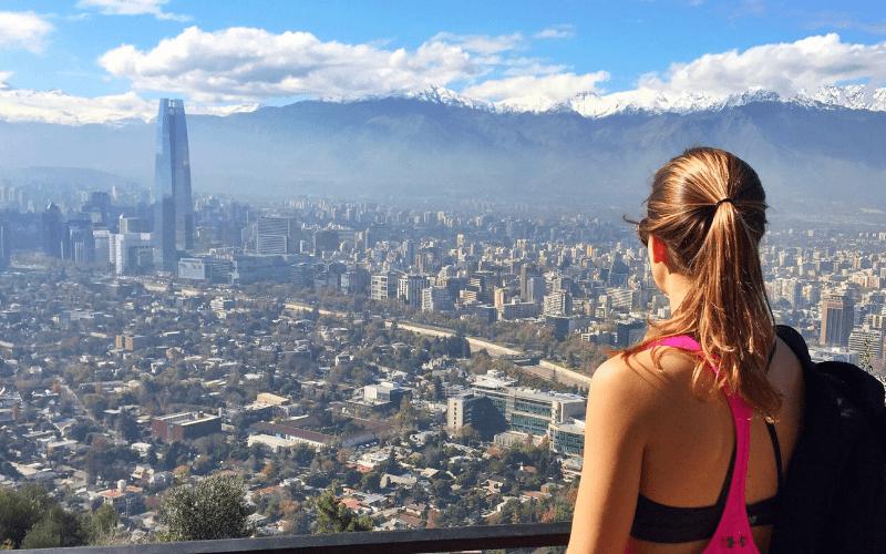 visit in Santiago